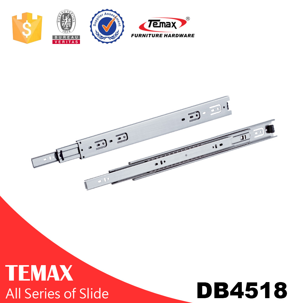 DB4518 Soft Close Stainless Steel Drawer Slide