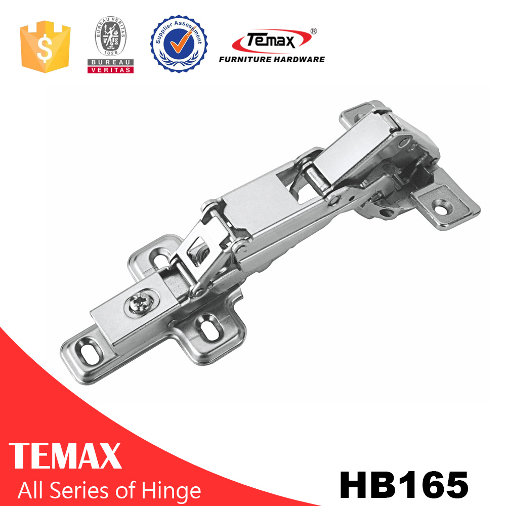 European adjustable screw door hinge
