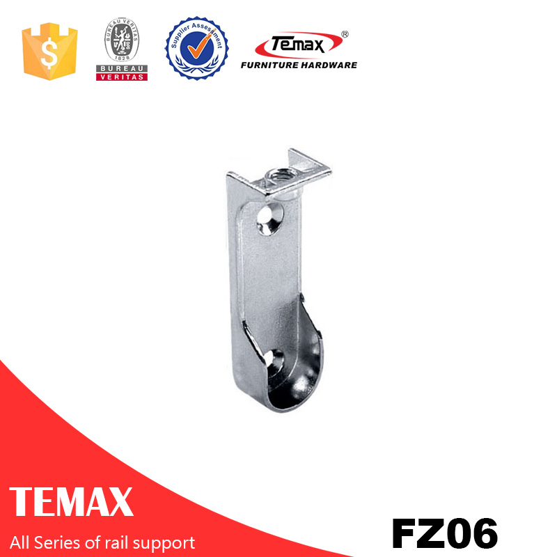 FZ06 Zinc alloy nickel furniture  tube holder