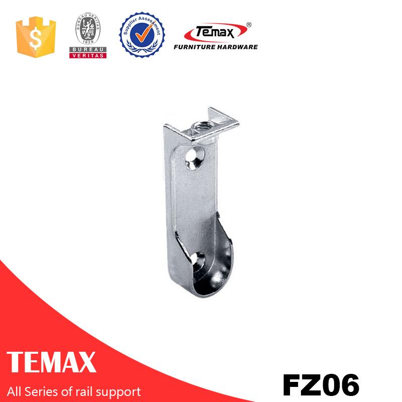 FZ06 Zinc alloy nickel furniture  tube holder