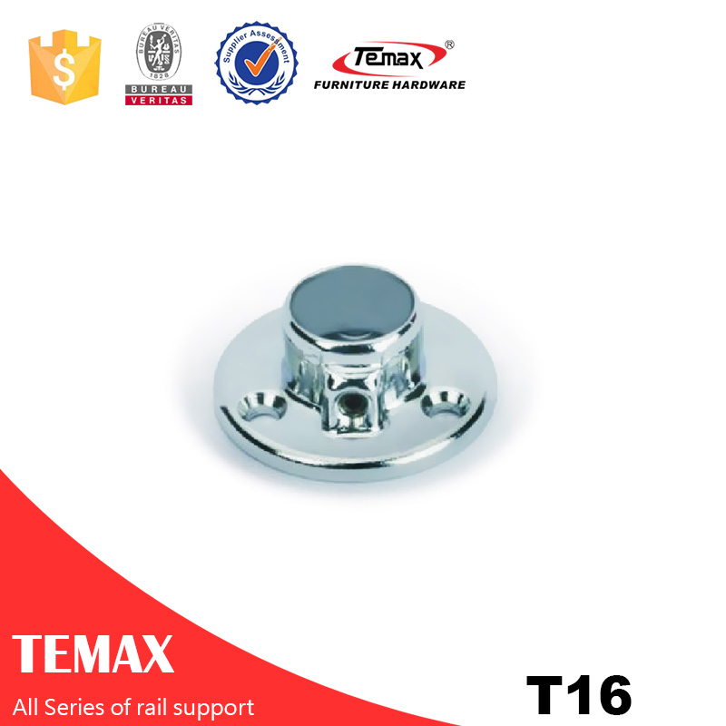 T16 Dia 16mm فولاد مبلمان کمد پشتیبانی ریلی