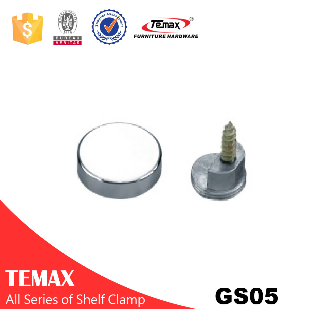 GS05 Round Glass Connecting Screw