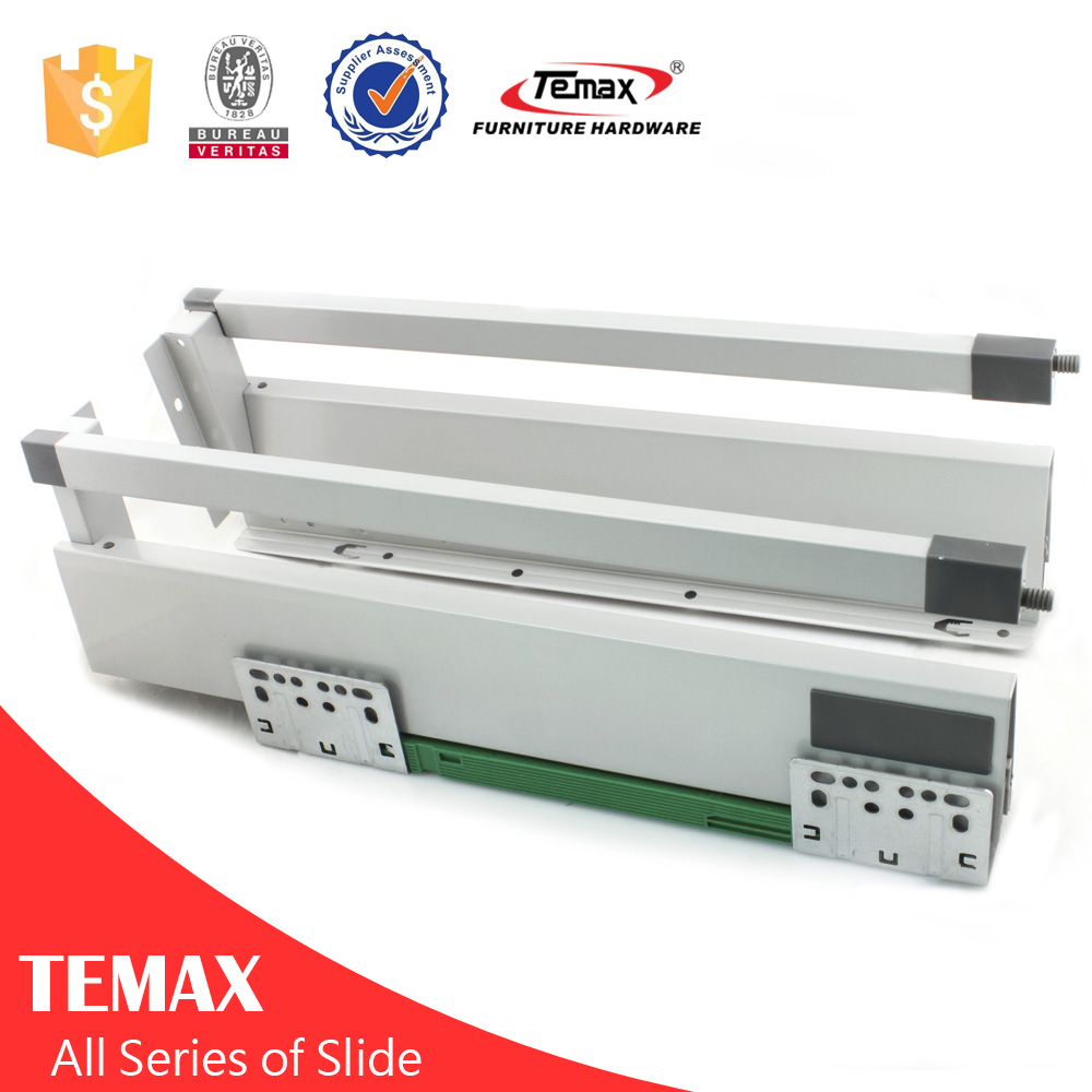 Hardware factory two side slide for extendable table