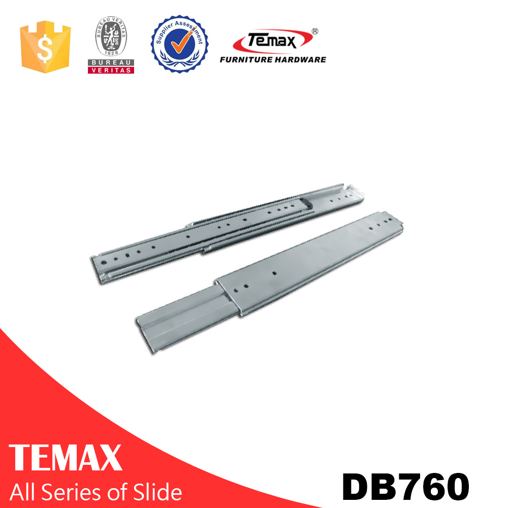 Heavy duty slide track, heavy duty ball bearing slide