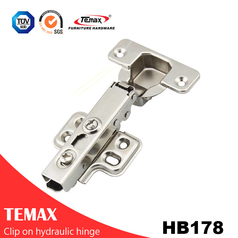 high quality plastic concealed hinges for cabinet table Promotional