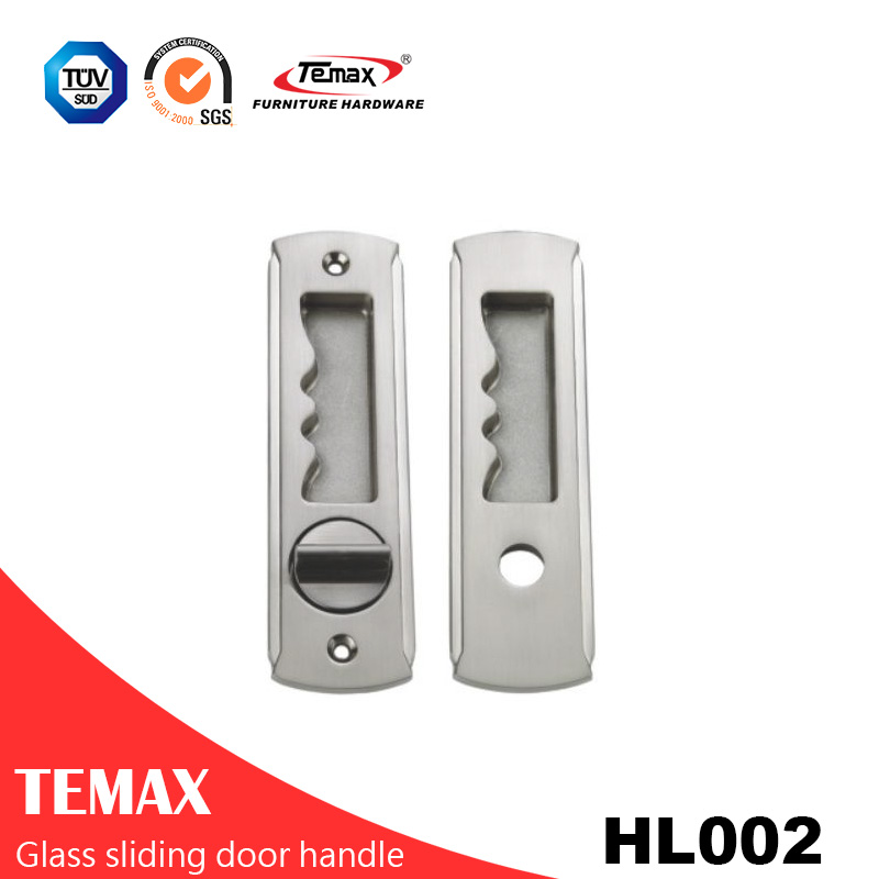 HL002  factory price zinc alloy sliding door handle