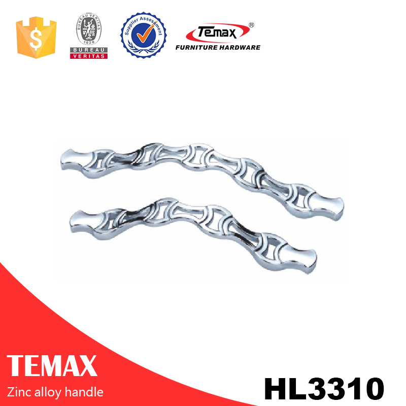 HL3310 Good price manufacturer zinc handles metal funiture