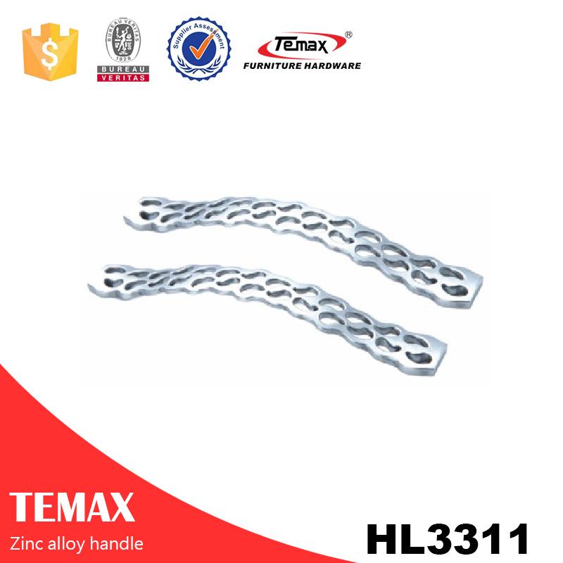 HL3311 Undermount parcialmente promocional zinc handle knob cobre