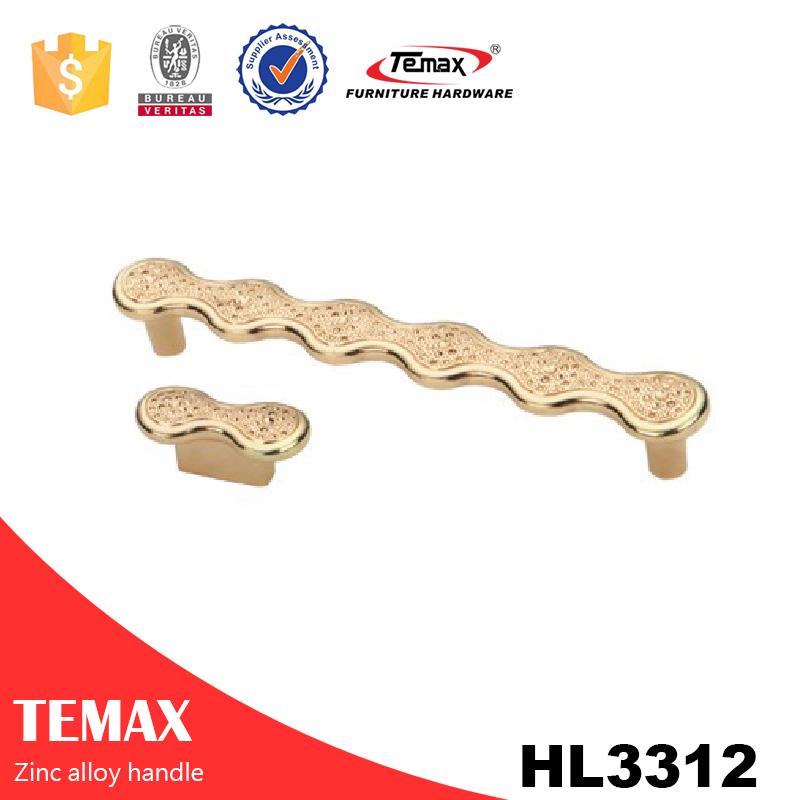 HL3312 temax zinc handle kitchen cabinet handle