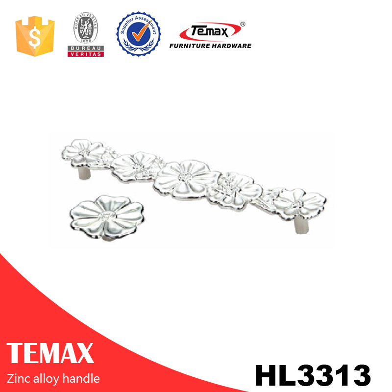 HL3313 European zinc handles for kitchen cabinet