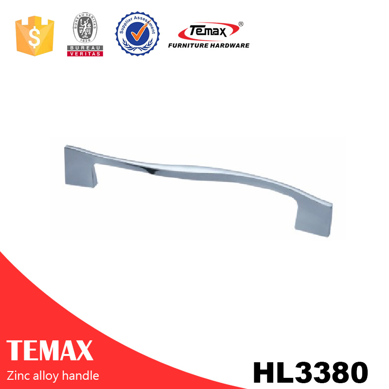 HL3380 Well made high-end zinc steel handle for cabinet