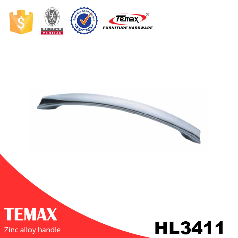 HL3411 Hot sell cheap price drawer handle Temax zinc profile handle