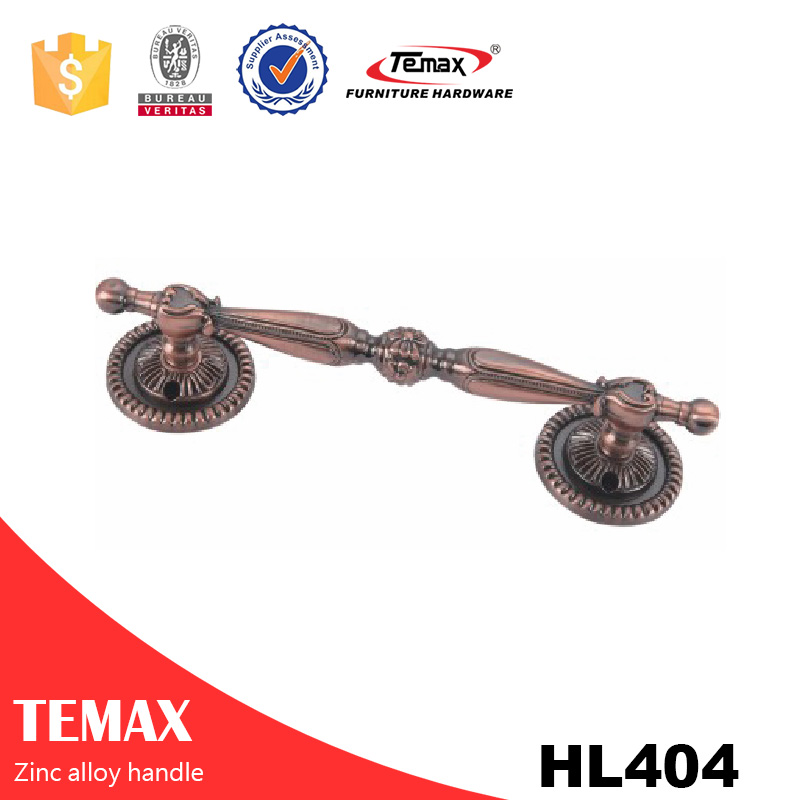 HL404 steel Furniture knob