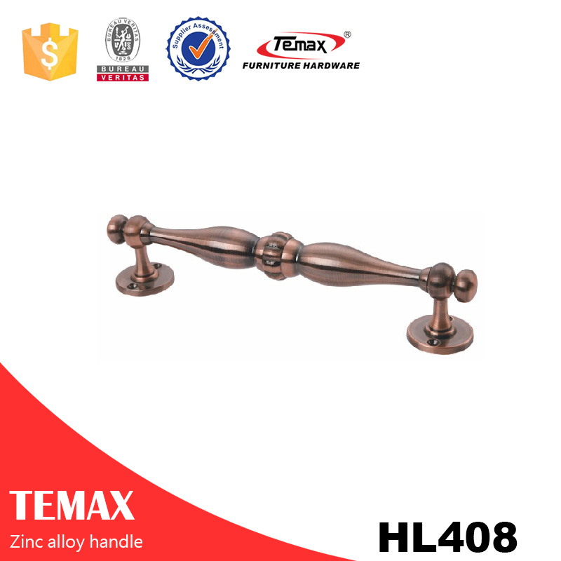 HL408 zinc alloy safe handle