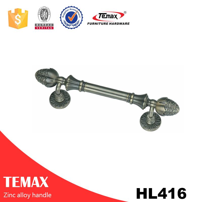 HL416 شنغهاي Temax الأثاث الألومنيوم الزنك مقبض