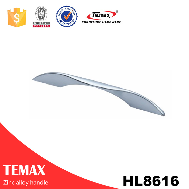 HL8616 High quality hadonized zinc cheap price door cabinet handles
