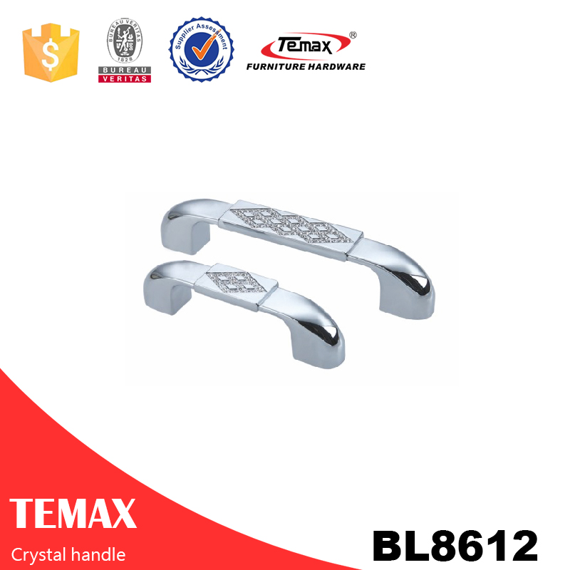 BL8612 Furniture cabinet handle crystal handle