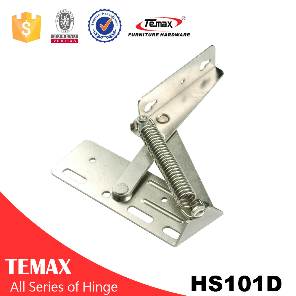 HS101D long life up door spring hinge for cabinet