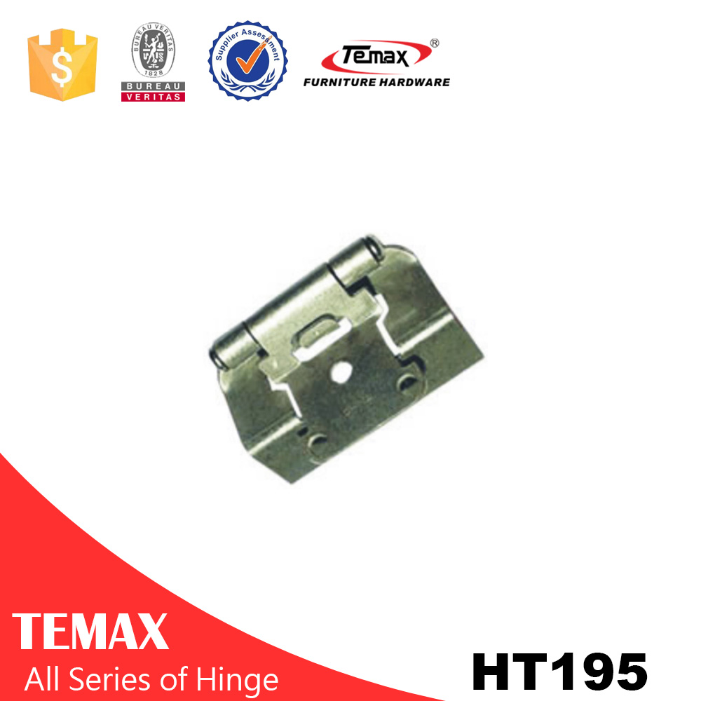 HT195 cabinet hinge aluminium hinge