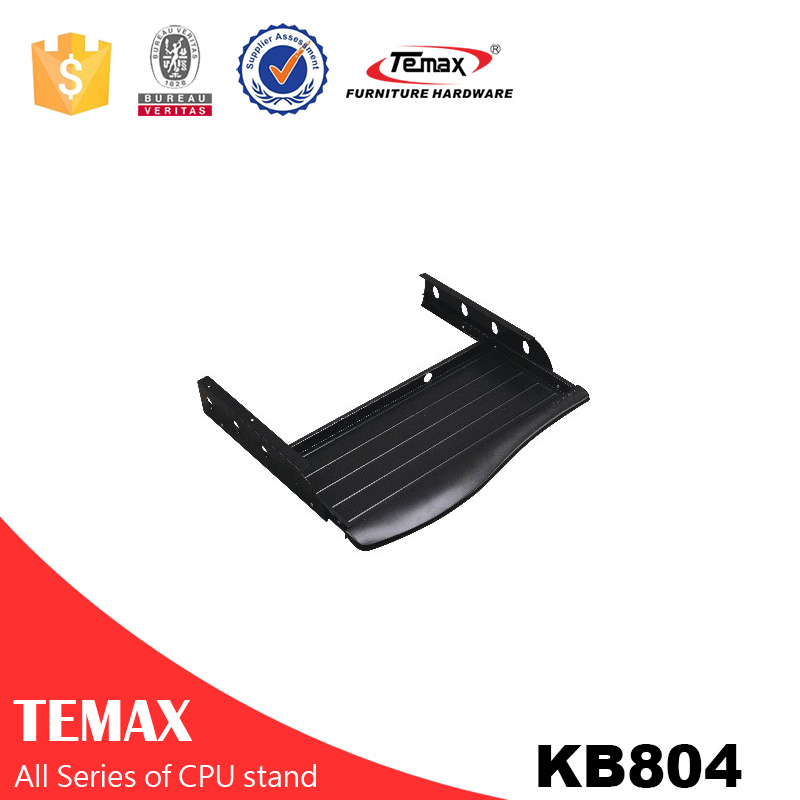 KB804 High Quality computer desk plastic keyboard tray