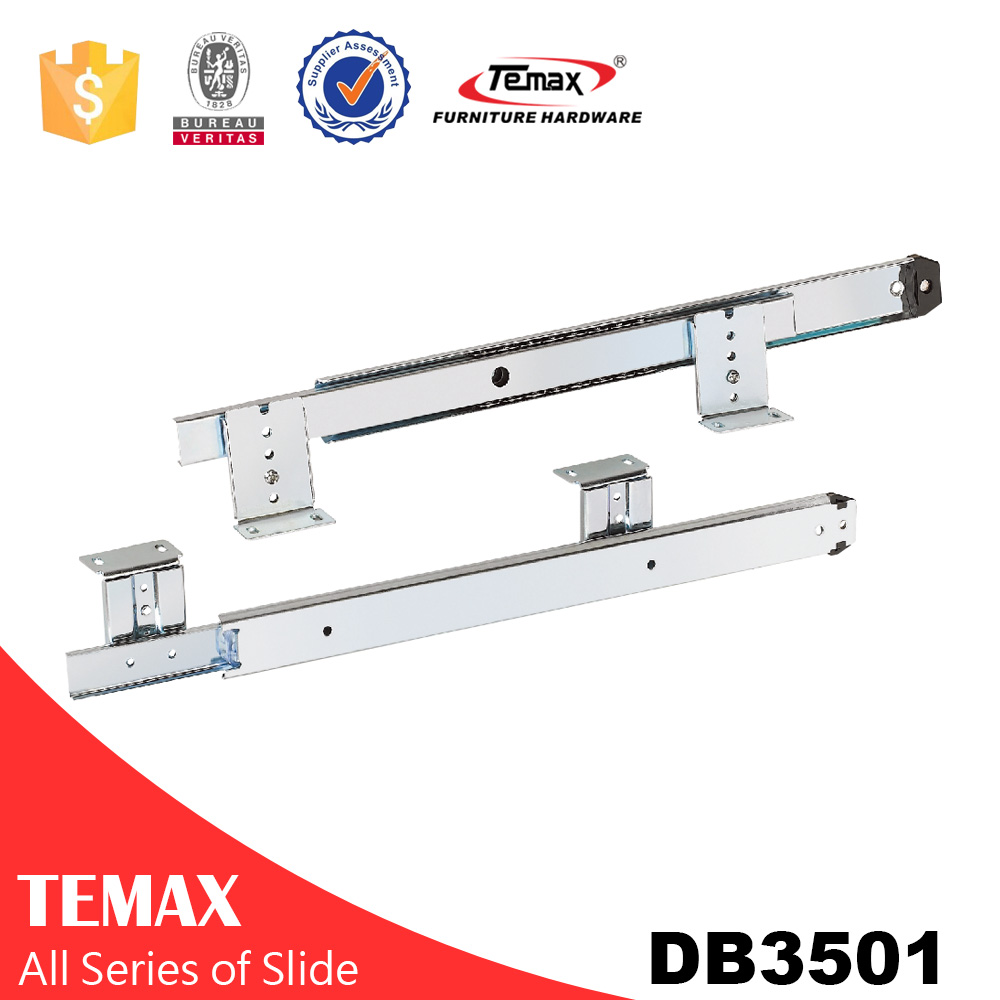 kitchen drawer rails metal sliding tracks plastic slide track