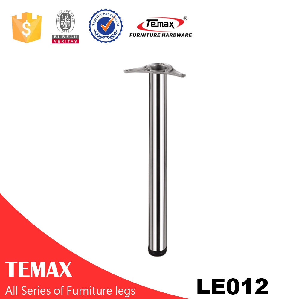 LE012 Dia 60mm round shape  good quality furniture table legs