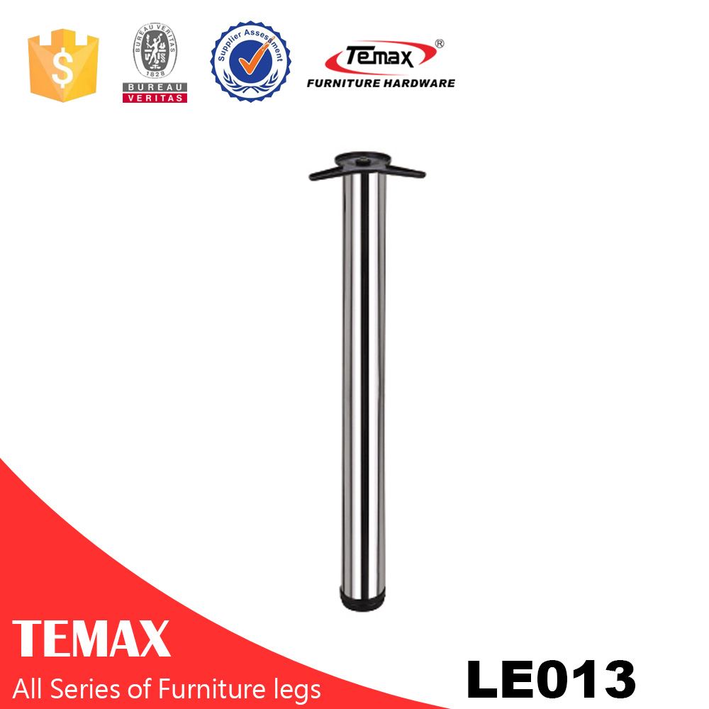 LE013 Dia 60mm round height adjustable furniture table leg