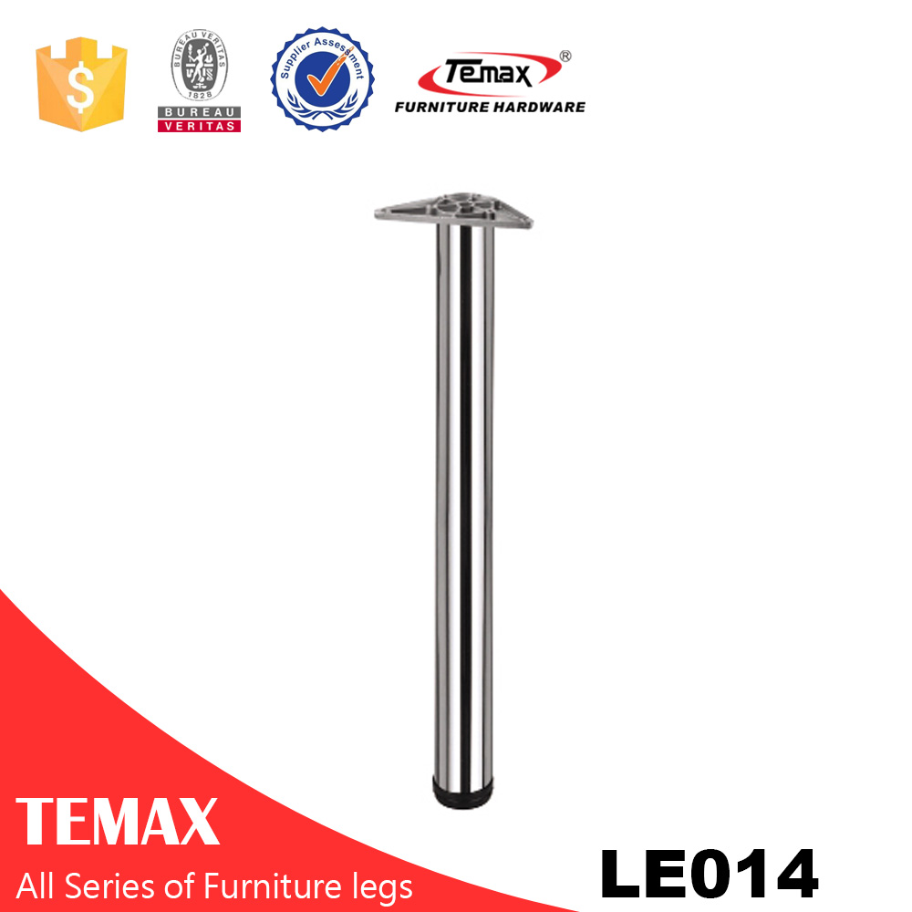 LE014 Dia 60mm round furniture leg cabinet table leg