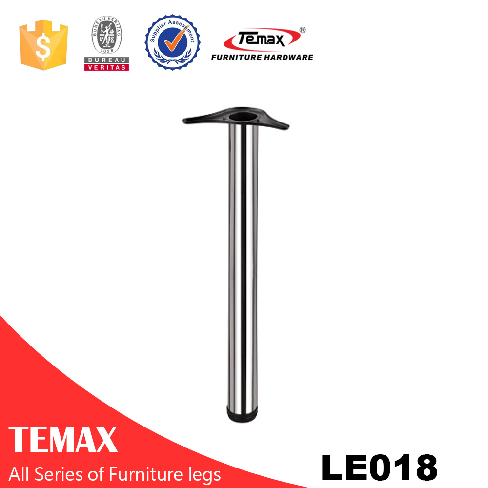 LE018 Dia 60mm furniture office metal table leg