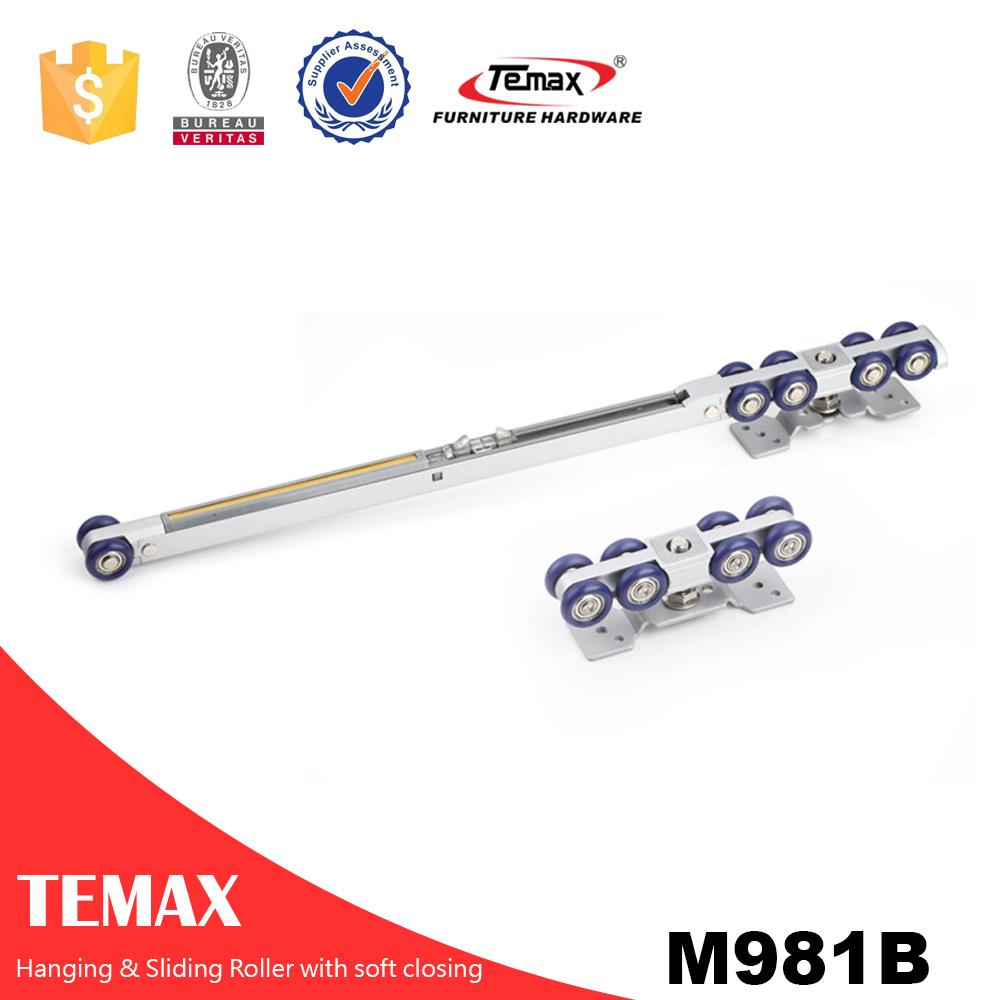 M981B rullo porta soft close pensile da un lato