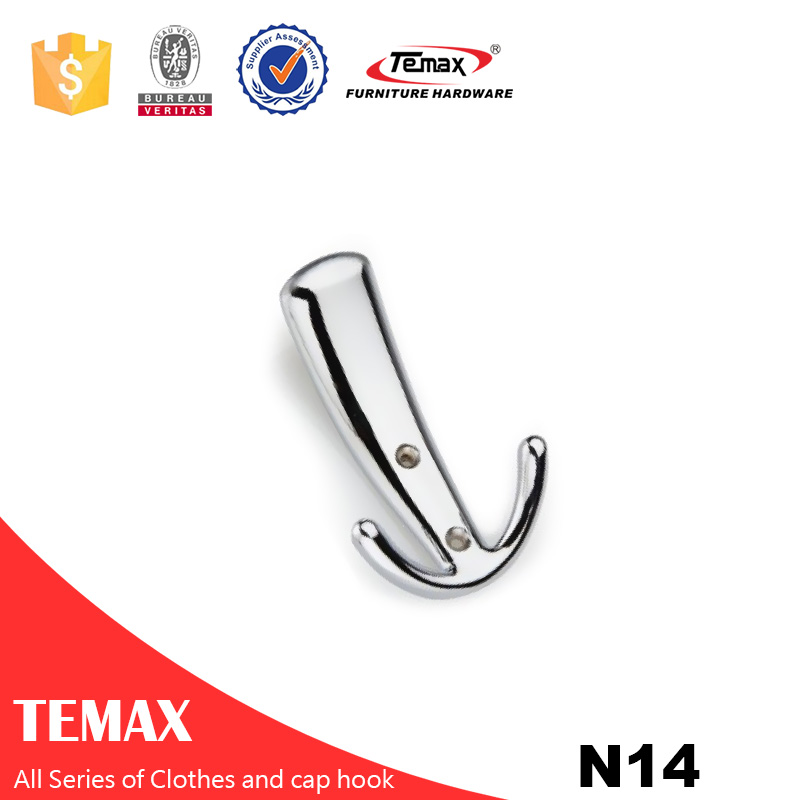 N14   Zinc alloy clothes cap hook