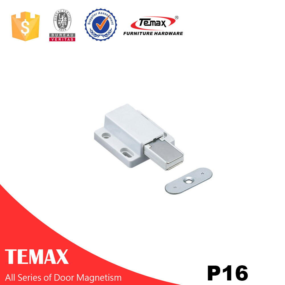 P16 Furniture Magnetic Stainless Steel Magnetic Door Catch