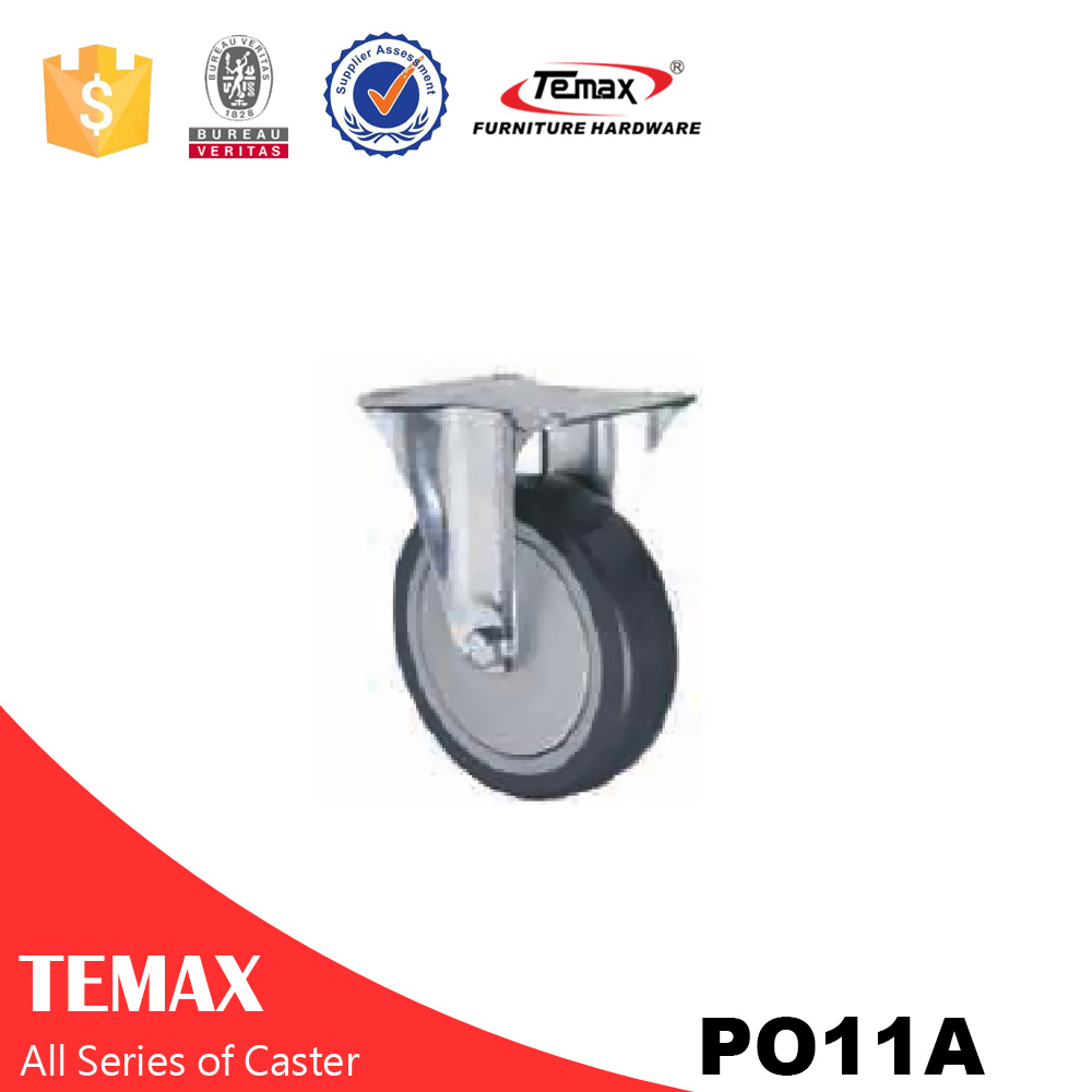 PO11A metal table leg with caster