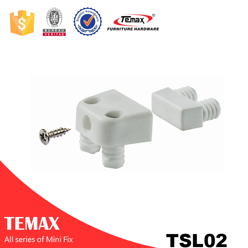 Plastic Cabinet Connector fittings