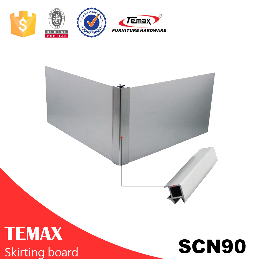 pvc skirting board TEMAX manufacture