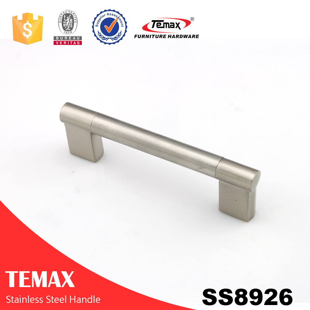 SS8926 cheap stainless steel door handle on rosette