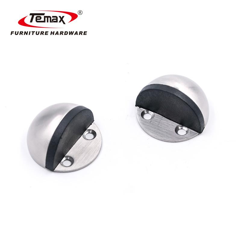 Stainless Steel Half Ball Door Damper Magnetic Door Catcher DX13-14