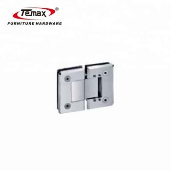 Stainless Steel Zinc Brass 180 degree interior glass hinge