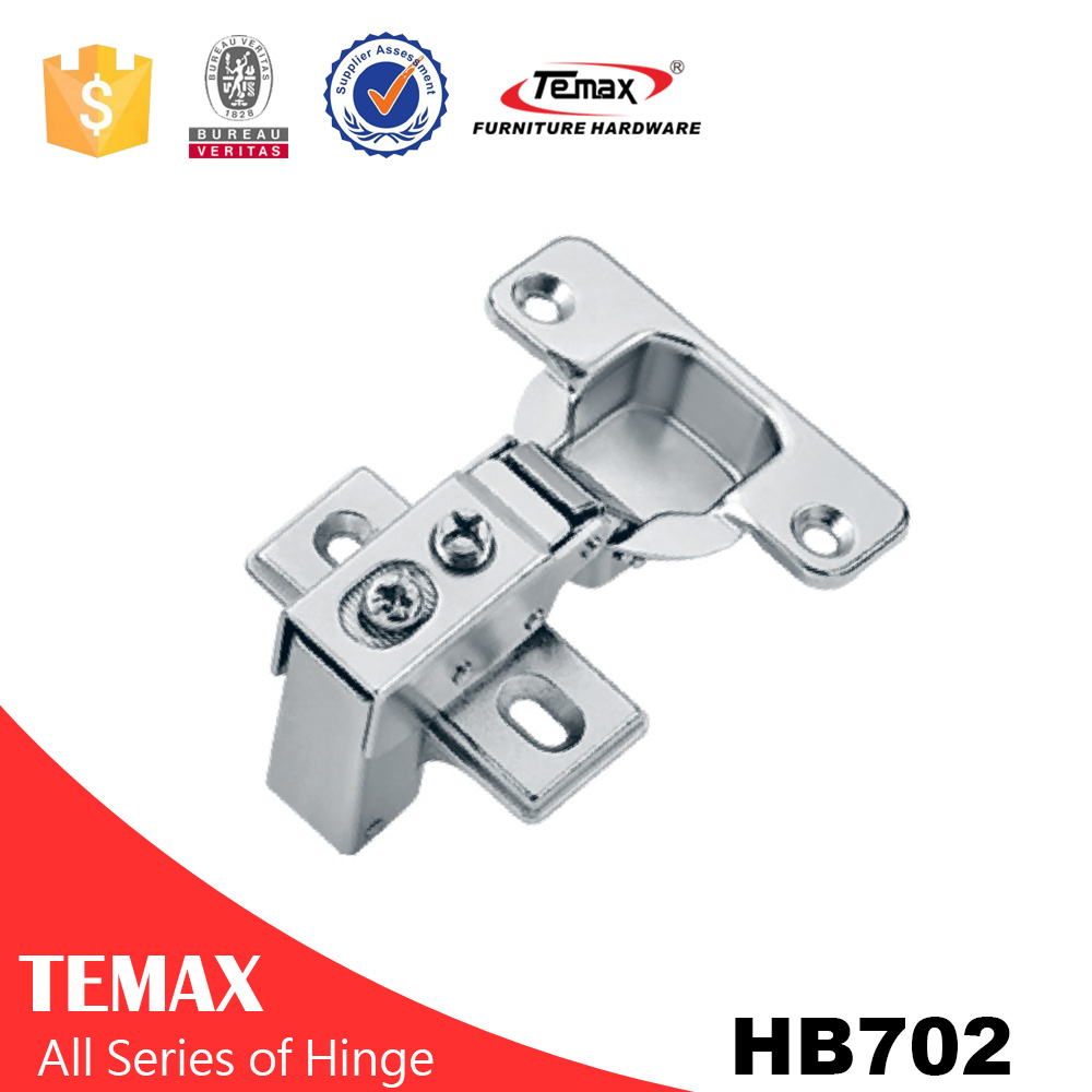 Super Concealed hinges with spring for cabinet door, no screw hinge