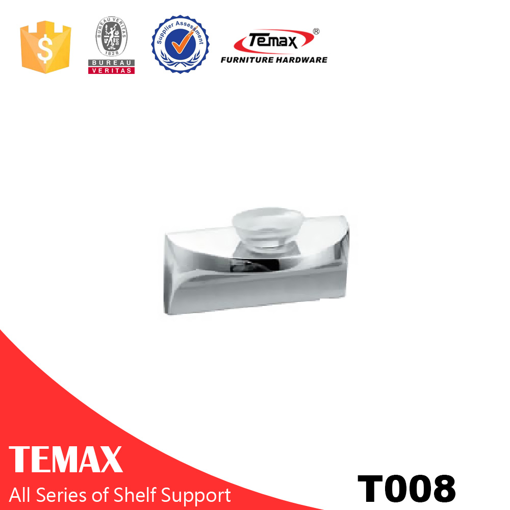 T008 Cabinet Shelf Support with rubber cap