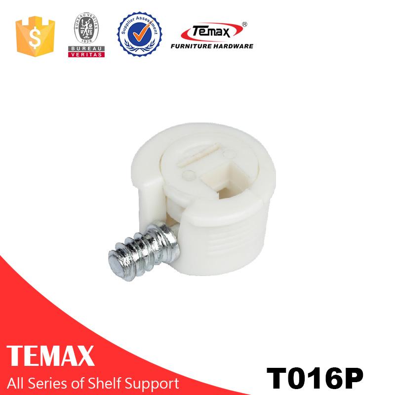 T016P Cam de conexão plástica com pino de ferro