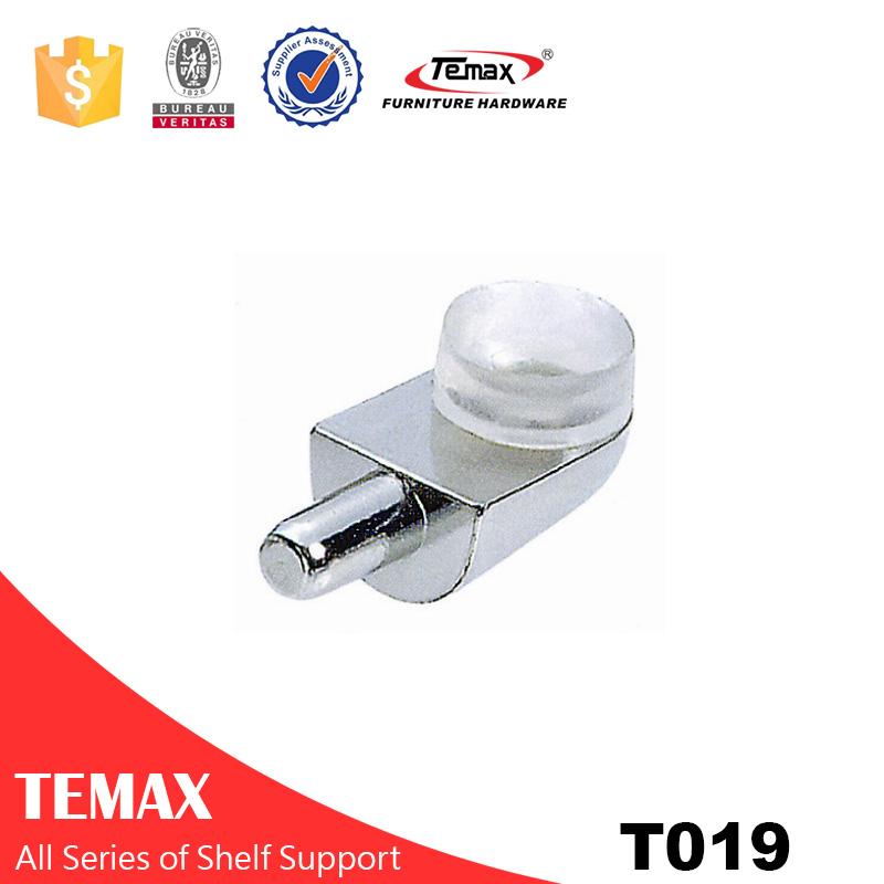 T019 Nickel Finish Glasträger