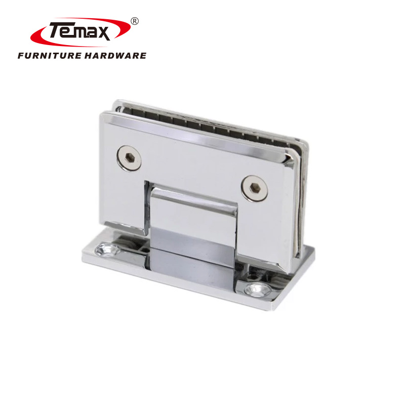 TEMAX 90 degree square glass railing clamp