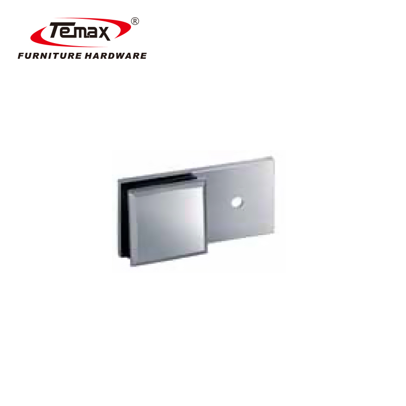 Temax Bathroom Hardware Accessory T Shape Interior Auto Glass Shower Door Hinge