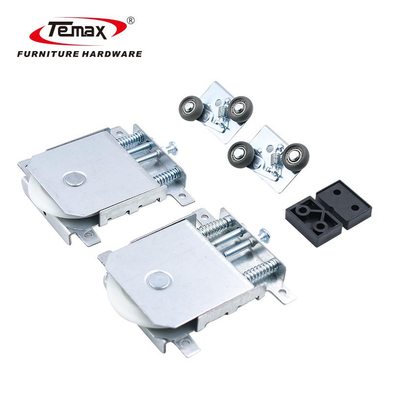 Temax Furniture Fittings wardrobe sliding door roller 192g sliding door wheels DW06