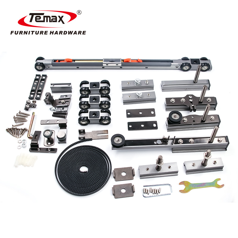 TEMAX furniture hardware soft close linkage door system