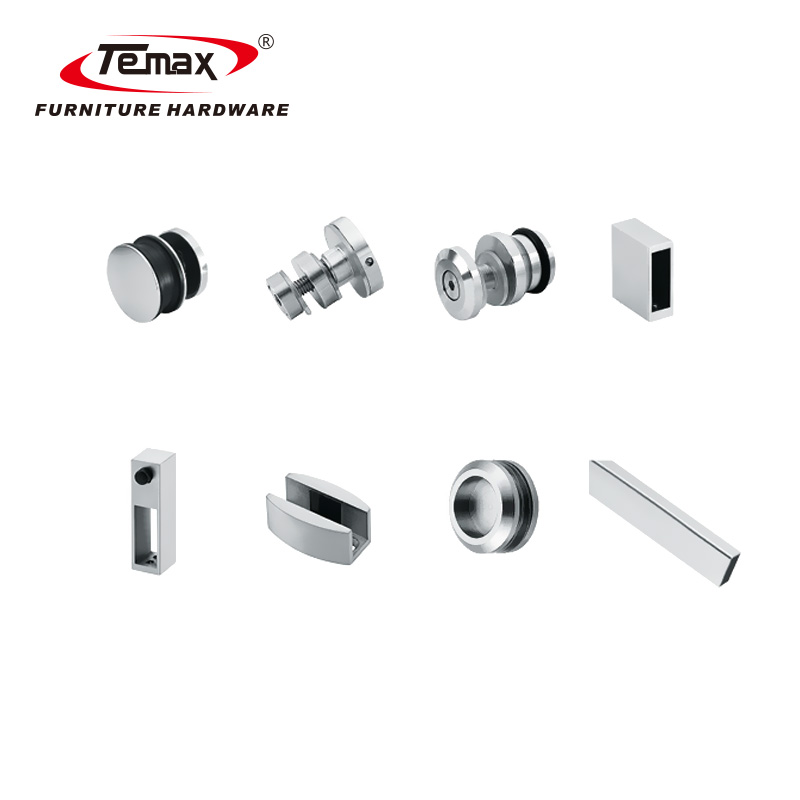 Temax glass small sliding shower door