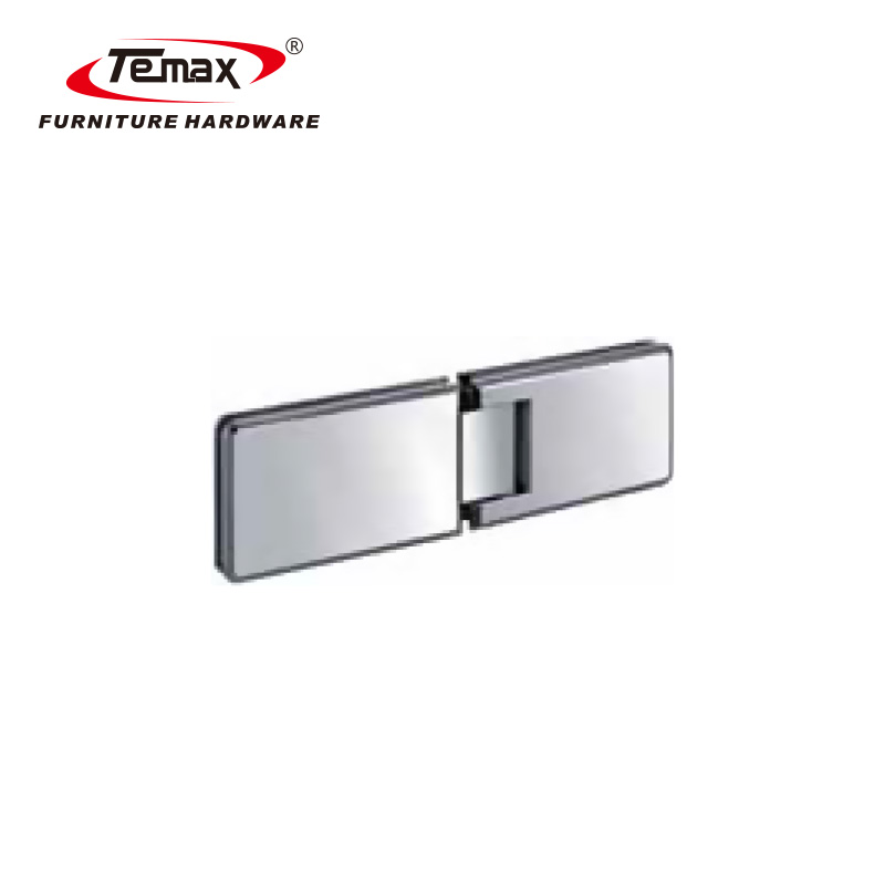 TEMAX Shower Door Clamp For Frameless Glass Hardware Fittings