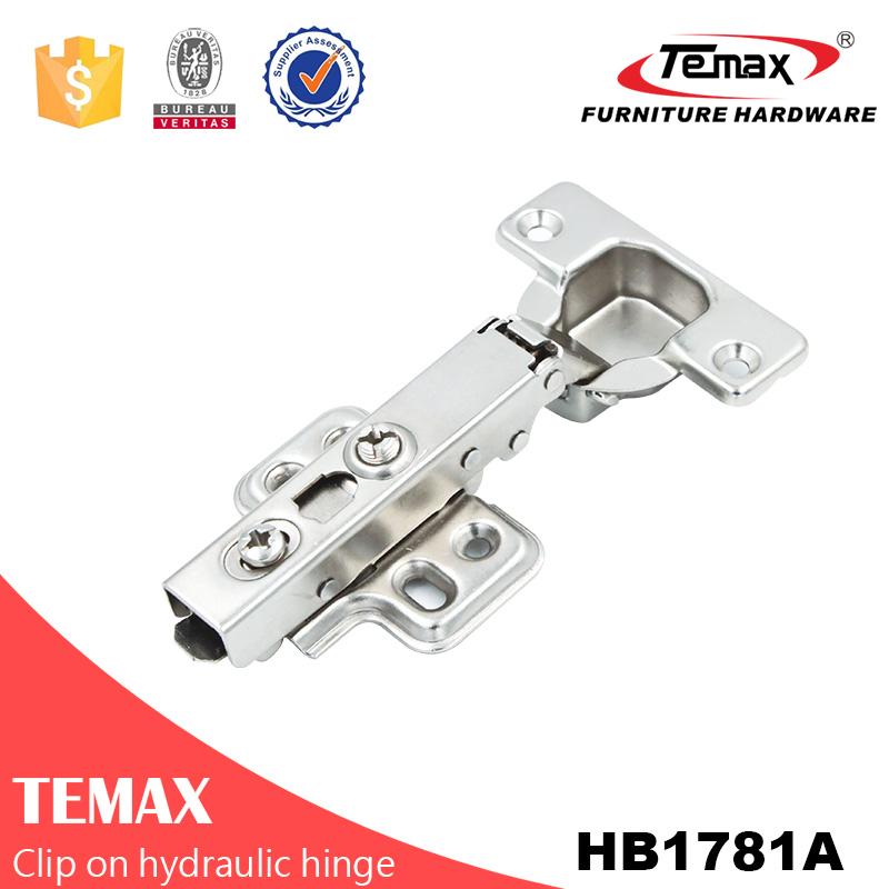 clipe Temax HB1781 na dobradiça escondida hidráulica