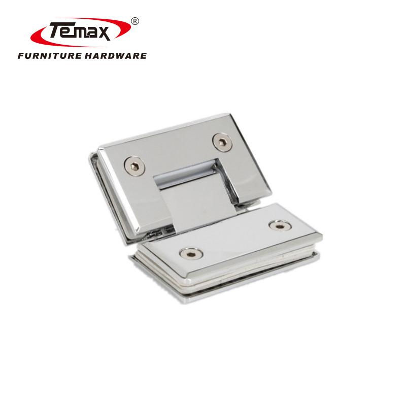 TEMAX دوش درب گیره برای فریم لس شیشه ای اتصالات سخت افزار